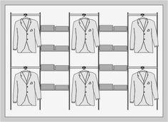 SYSLINE - retail solution - Soportes Verticales - Zipper Flower Jeans, Retail Interior Design, Tailor Shop, Golf Shop, Boutique Ideas, Retail Shop, Tie Knots, Visual Merchandising, Store Design