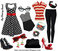 """Rockabilly Girl"" by llucherrybomb on Polyvore"