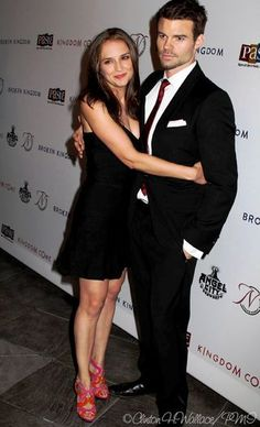 Actress Rachel Leigh Cook & Actor Daniel Gillies at the screening of Kingdom Come Doc based on their feature film, Broken Kingdom.