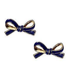 Kate Spade bow earrings