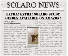 SOLARO Study Guides for the Common Core are now available on Amazon! #CCSS #StudyGuide #Homework Study Guides, Homework, Make It Simple, Core, The Unit, Student, Education, Learning, Amazon