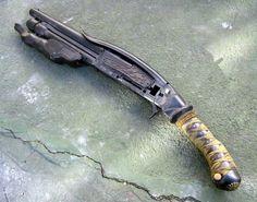 Samurai shotgun...