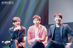 Kim Kyu Jong, Heo Young Saeng, and Kim Hyung Jun