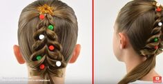 Christmas Hair Style ideas - updated at Christmas Hairstyles, Page Design, Style Ideas, Diy Crafts, Make It Yourself, Mom, Hair Styles, How To Make, Beauty