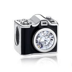 Sentimental Snapshots Camera Charm 925 Sterling Silver