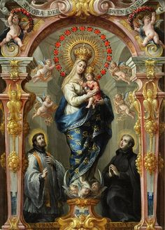 Our Lady of Good Counsel - Feast Day April April - is the feast day of Our Lady of Good Counsel. Records dating from the reign of Paul II relate that the picture of Our Lady, at. Blessed Mother Mary, Blessed Virgin Mary, Religious Icons, Religious Art, San Luis Gonzaga, Image Jesus, La Madone, Photo Print, Mama Mary
