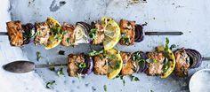 Grillatut lohivartaat Tandoori Chicken, Food Inspiration, Bbq, Meat, Ethnic Recipes, Barbecue, Barrel Smoker