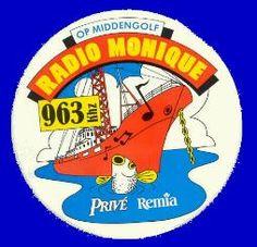 Toch was er in de 80's nog (illegale) radio vanaf de Noordzee: Radio Monique