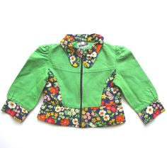 VINTAGE 70's / children / fitted jacket / by Prettytidyvintage