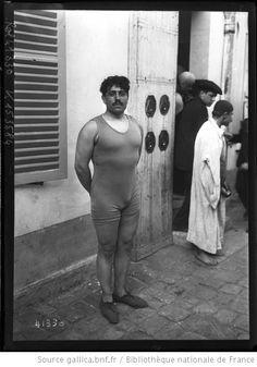 [19 janvier 1914, course de natation d'Ivry au Grand-Palais], Geoffroy [portrait du nageur] : [photographie de presse] / [Agence Rol] - 1