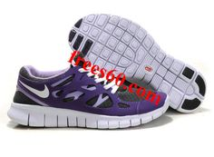 frees60.com for half off nike shoes $49.66 , Womens Nike Free Run 2 Gray Purple Shoes - Click Image to Close