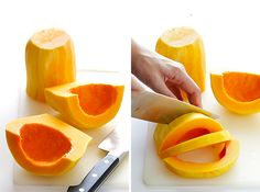 How To Peel and Cut Butternut Squash | Gimme Some Oven