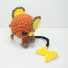 Raichu by Heartstringcrochet.deviantart.com on @DeviantArt