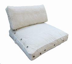 loungekussens zit en rug