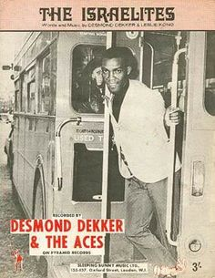 Desmond Dekker on a Double Decker! - Desmond Dekker was on at the Milton Keynes Bowl in 1979 - (Bowl had just opened) Ska Music, Reggae Music, Dennis Brown, Concert Posters, Music Posters, Jamaican Music, The Jam Band, Rude Boy, Music Bands