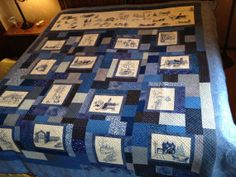 Winter Wonderland Quilt by BeeBeeQuilts on Etsy, $850.00
