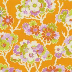 Heather Bailey - Lottie Da - Sprig in Tangerine