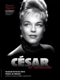 L'affiche officielle des César 2013