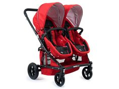 Zee Spark Duo ~ one of only a few side-by-side double prams that have reversible seats.