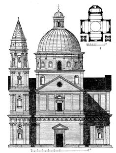 San Biagio – Sangallo - 1518-1545 construction - Montepulciano, Tuscany Church Architecture, Architecture Drawings, Historical Architecture, Filippo Brunelleschi, Theatrical Scenery, Minecraft Designs, Tuscany Italy, 16th Century, Madonna