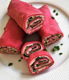 Cviklové palacinky s bryndzou a so špenátom - recept | Varecha.sk Tuna, Fish, Meat, Party, Pisces, Parties, Atlantic Bluefin Tuna