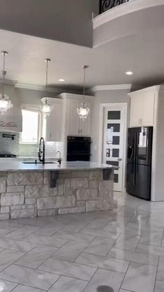 Kitchen Pantry Design, Luxury Kitchen Design, Best Kitchen Designs, Home Decor Kitchen, Interior Design Kitchen, Kitchen Furniture, Fancy Kitchens, Dream Kitchens, Luxury Kitchens