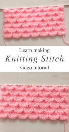 0 0 Simple Knitting Stitch – Learn how to work this simple knitting stitch for a sweater or cardigan by watching this tutorial! You can use this pattern to knit some of the all time favourite projects. Knitting Stiches, Simple Knitting, Knitting Patterns Free, Free Knitting, Crochet Stitches, Crochet Hooks, Stitch Patterns, Knit Crochet, Crochet Patterns
