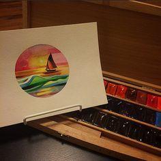 sailboat tattoo - Sasha Unisex
