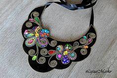 LujzaMarko / Flowers náhrdelník