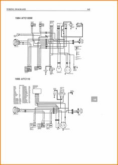 Loncin 110cc Wiring Diagram 110 Atv Awesome Pit Bike Ideas