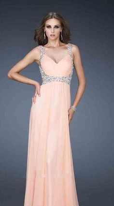 Embellished Yellow Long Sleeveless V-neck A-Line Evening Dresses Sale momodresses27131
