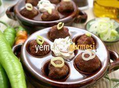 Sarımsaklı Köfte Tarifi - http://www.yemekgurmesi.net/sarimsakli-kofte-tarifi.html