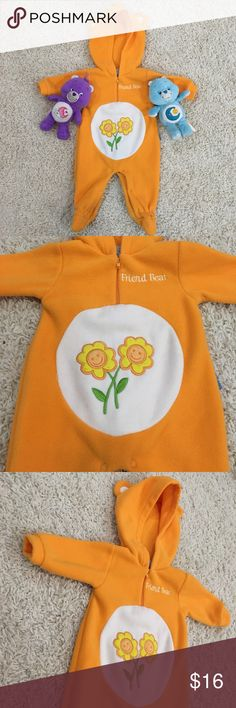 FRIEND BEAR ONESIE   Your baby will look adorable in this  used * can be used like pijamas or maybe Halloween costume if you'll like  Care bears Costumes Halloween
