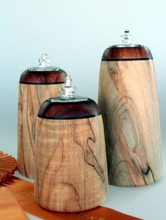 Wooden Oil Candles Ambrosia Maple and Koa by woodenquill on Etsy