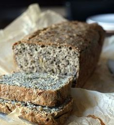 Gluten-free buckwheat bread with almond flour and seeds Quick Bread Recipes, Bread Machine Recipes, Easy Bread, Banana Bread Recipes, Baking Recipes, Kouign Amann, Feel Good Food, Love Food, Gluten Free Buckwheat Bread