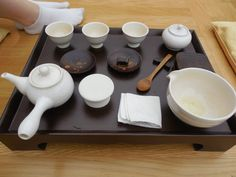 Korean tea set #culture