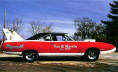 photos of sox & martin drag cars | 1970 Plymouth Road Runner Superbird Sox amp Martin Drag Car Si 500x305 ...