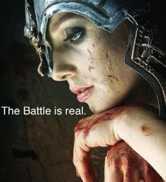 So true! Spiritual warfare is very real! We must fight!