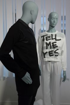 Abstract mannequin from collection Elle - Cofrad Mannequins