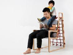 Мебель для развлечений и отдыха. Дизайнерский стул Abooba Chair от Jaewook Kim | Промышленный дизайн | Предметы быта