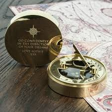 Adventurer's Personalised Sundial And Compass by TheLittleBoysRoom, the perfect gift for Explore more unique gifts in our curated marketplace. Working Compass, Unique Gifts, Best Gifts, Nautical Compass, Sundial, Gift For Lover, Dreaming Of You, Adventurer, Awards