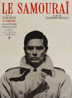 Movie poster for Le Samourai    dir. Jean-Pierre Melville