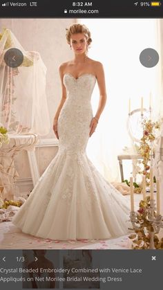 29c80ff3af57 Ivory mori lee wedding gown 2801 Mermaid #fashion #clothing #shoes  #accessories #