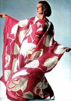 Fashion by Pierre Balmain, 1969.