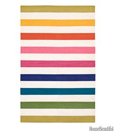 Colorful Striped Rugs - Patterned Rugs with Stripes