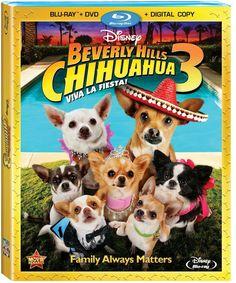 Blu-ray News: Disney BEVERLY HILLS CHIHUAHUA 3 VIVA LA FIESTA! 9/18/12