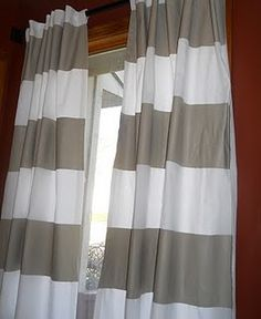 inexpensive way to get bold curtains