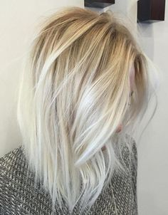 Top 13 Scrumptious Vibrant Hues for blonde sombre hairstyle 2016 - 2017