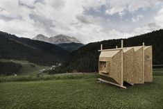"""Built by Mariano Dallago in San Martino In Badia, Italy The work """"Camera Obscura"""" was created for the competition SMACH.IT competition of land art in the Dolomites in Trent..."""