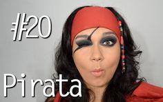 Pirate makeup tutorial Carnival  !